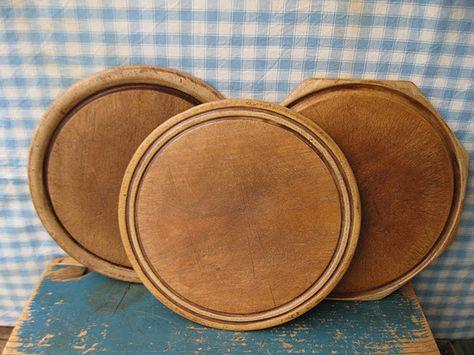 Olde Wooden Bread Boards