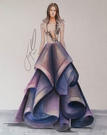 26 Trendy Fashion Design Dress Sketches Beautiful Fashion Illustration Sketches Dresses Dress Design Drawing Fashion Design Dress