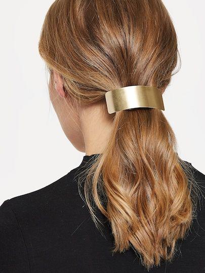 Shein Metal Hair Clip Hairclip Haarklammer Haarspangen Coole Frisuren Schal Frisuren