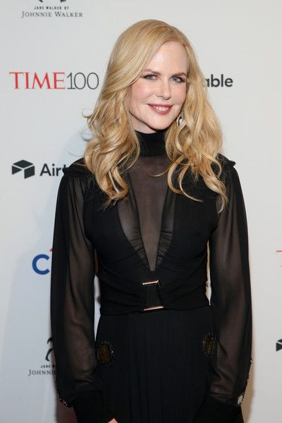 Actor Nicole Kidman attends the 2018 Time 100 Gala.