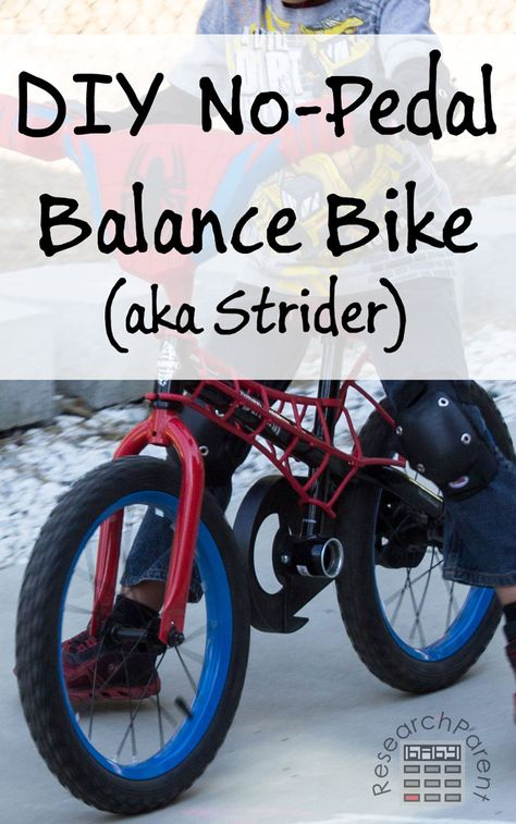 DIY No Pedal Balance Bike (aka Strider bike)