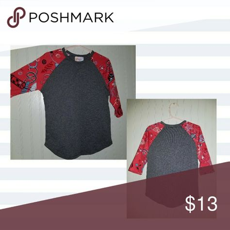 Lularoe Sloan 4 New without tags Lularoe Sloan in size 4. My daughter outgrew before getting to wear it. Smoke/Pet free home. LuLaRoe Shirts & Tops Tees - Long Sleeve