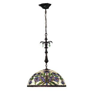 Victorian Wayfair Pendant Light Tiffany Style Bowl Pendant