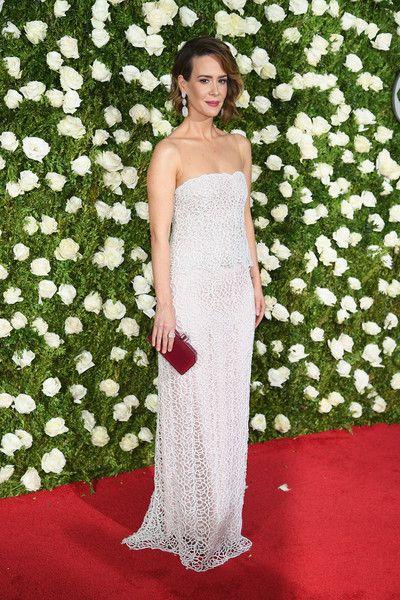 Sarah Paulson - The Best Dressed at the 2017 Tony Awards - Photos