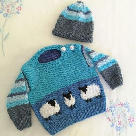 crochet baby hat size 0-3 Months Hand knitted colour blue