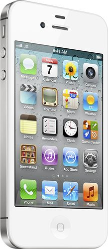 Apple® iPhone® 4 with 8GB Memory No-Contract Mobile Phone