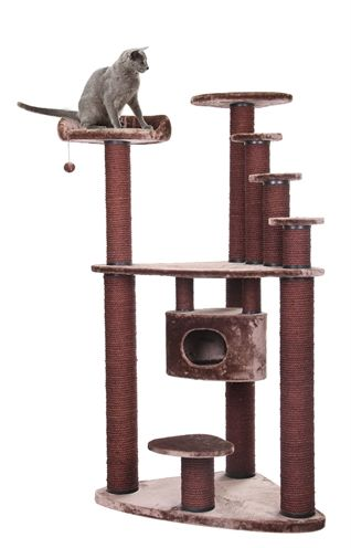 Petdwell CatHaven Large Round Cat Condo  5ft.