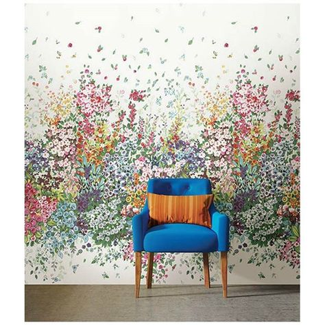 Meadow Multi Color Mural Really Like This What Do You