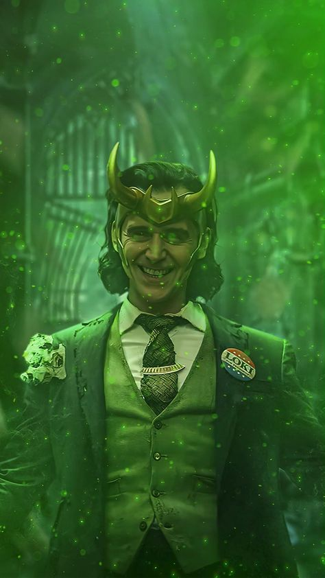 Animated Video GIF(DOWNLOAD) Phone Wallpaper Loki
