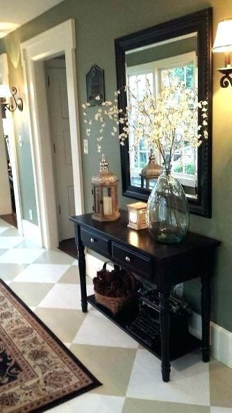 Welcoming Design Ideas For Small Entryways Decor Small Entryways Small Entryway Table