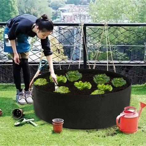Bolsa de Cultivo Maceta Bolsa de vivero Vegetal Invernadero de Jardinera