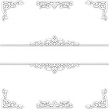 مجرد عرس إطار أبيض اللون قالب دعوة زفاف الزينة الإطار Png وملف Psd للتحميل مجانا Wedding Frames Flower Aesthetic Flower Images