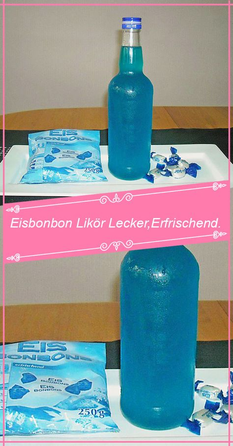 Eisbonbon Likor Lecker Erfrischend Eis Bonbons Bonbon Eis