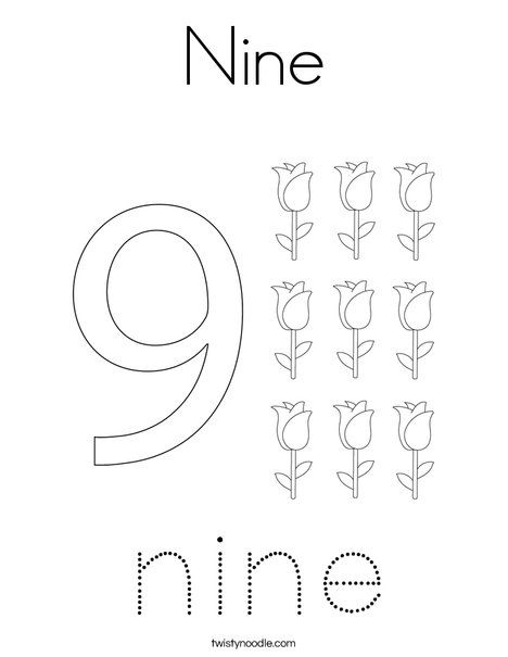 Nine Coloring Page Twisty Noodle Coloring Pages Holiday Lettering Color