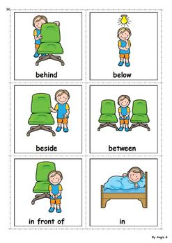 Prepositions for Speech Therapy | Speech language activities ...