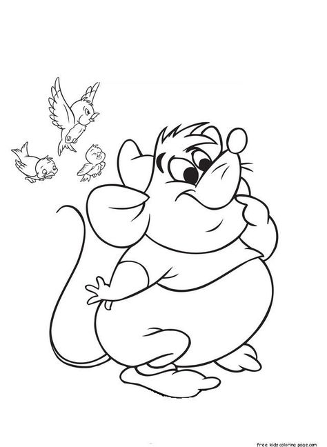 read moreprintable disney characters cinderellas mice and