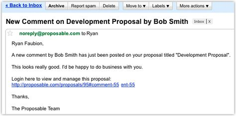sales proposal