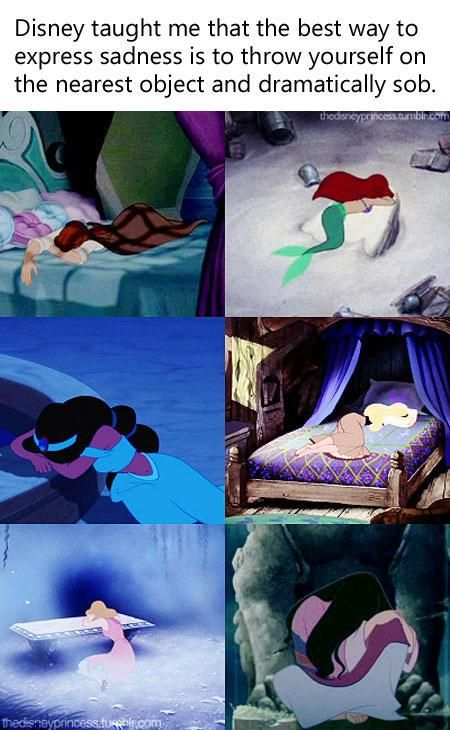 I don't do this, but it's kind of crazy how many Disney girls do it. Even Elsa from Disney's Frozen (coming out in November) does it too, although it's not shown here.