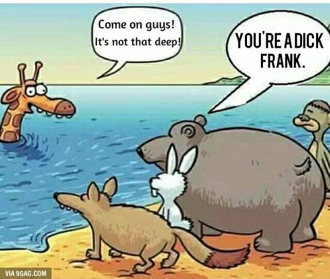 You're a dick Frank.