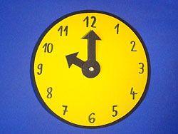 Eine Uhr Basteln Uhr Selber Basteln Basteln Und Uhren
