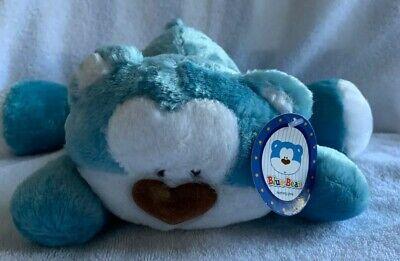 Blue Bear Morning Glory Sleeping Plush 11 Nwt Floppy Arms Legs Yellow Moon Ebay In 2020 Yellow Moon Plush Animals Plush