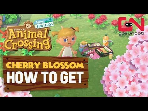 Pin By Sarah Johnston On Animal Crossing Ideas In 2020 Cherry Blossom Tree Animal Crossing Blossom Trees