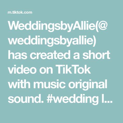 WeddingsbyAllie(@weddingsbyallie) has created a short video on TikTok with music original sound. #wedding late night snack idea! #weddingsbyallie #weddingfavorideas #weddingfavors #fyp