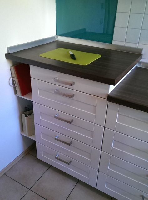 How To Elevate Ikea Metod Kitchen Countertop Ikea Hackers Ikea Kitchen Countertops Ikea Metod Kitchen Installing Kitchen Countertops