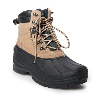 Mens waterproof winter boots, Winter