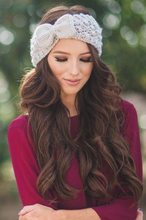 16 Winter Frisuren Fur Frauen Zu Sehen Heiss Frauen Frisuren Winterfrisuren Frisuren Mit Bandana