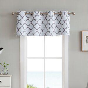 Atticus Ikat Room Darkening Thermal Grommet Single Curtain Panel In 2020 Valance Curtains Window Curtains Curtains