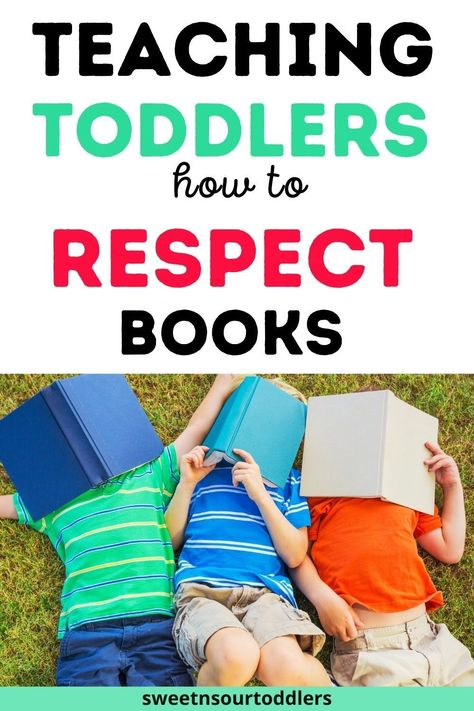 Teaching Toddlers How to Respect Books & Stop Ripping Them to Shreds