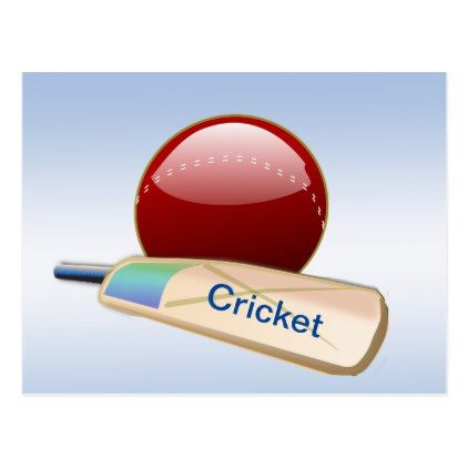 Cricket Sports Ball Bat With 2020 Calendar On Back Postcard Calendars 2019 Personalized Calendar Cricket Balls Sports Balls Cricket Sports