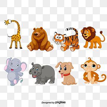 Mapa Dos Desenhos Animados De Animais Linda Cartoon Animal Imagem Png E Psd Para Download Gratuito การ ต น ส ตว ก จกรรมเด กก อนว ยเร ยน