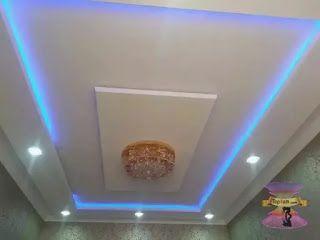 اسقف جبس بورد حديثة للصالات مستطيلة 2022 In 2021 Decor Lamp Home Decor
