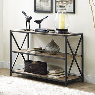 Mercury Row Maia Bookcase Wayfair Co Uk Mobilier De Salon