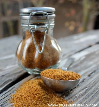 A roasted curried chicken made possible with this special rub…