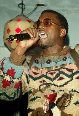 Celebrities in ugly Christmas sweaters-Kanye West | Christmas ...