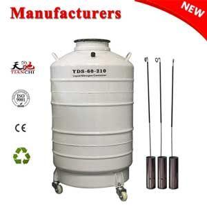 Liquid Nitrogen Container 60l Large Caliber Transport Container Is