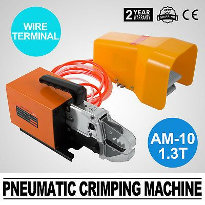 Pneumatic Crimper Air Powered Wire Terminal Crimping Machine Tool NEW Arrival