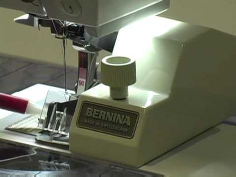 Saumführung Original BERNINA