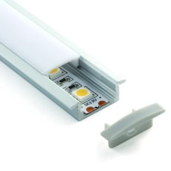 Led Strip Profiles Alp001 Led Flexible Strip Led Aluminum Profile Led