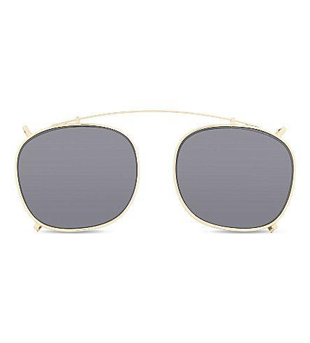 6a65ed605d9 ILLESTEVA Rashida Round-Frame Clip.  illesteva  sunglasses
