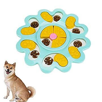 Dog Puzzle Toy Puppy Kitty Treat Dispenser Toys Dog Cat Puzzle Toy