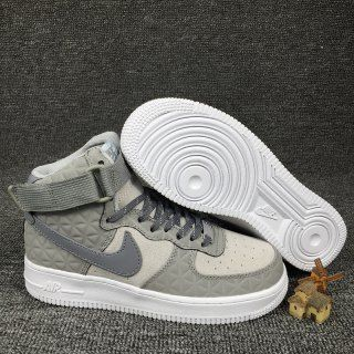 newest collection e7958 23303 Womens Sneakers Nike Air Force 1 High Premium Suede Matte Silver Pure  Platinum White Cool Grey 845065 001