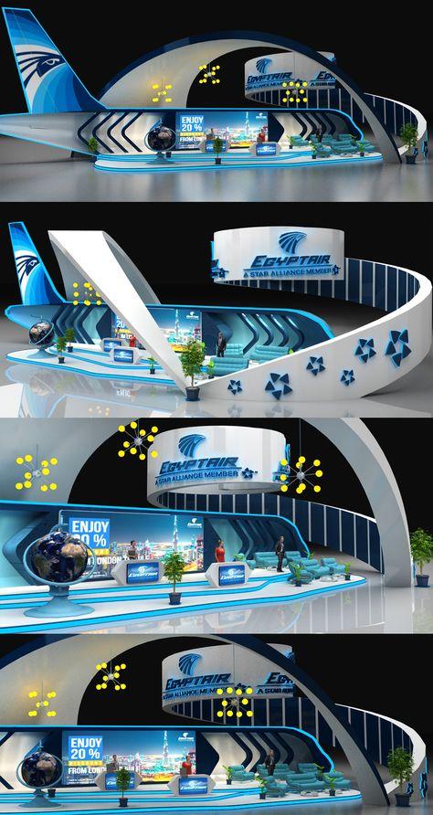 Egypt Air Booth on Behance