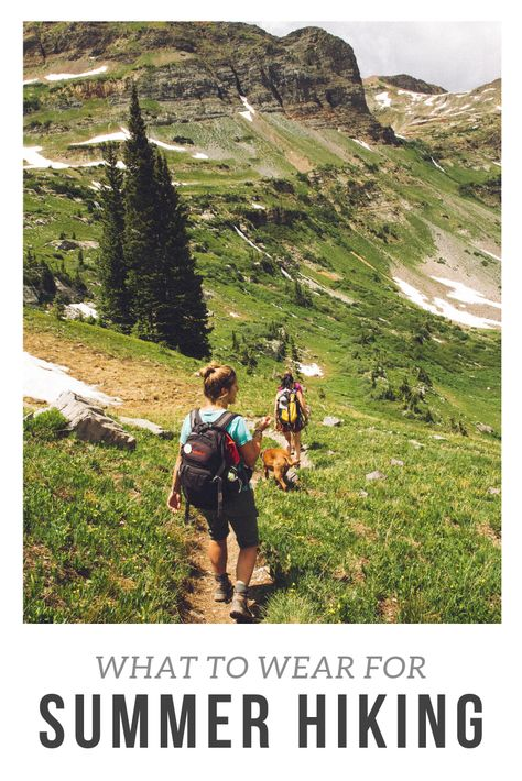 What to Wear for Summer Hiking ⋆ The Outdoor Adventure Blog