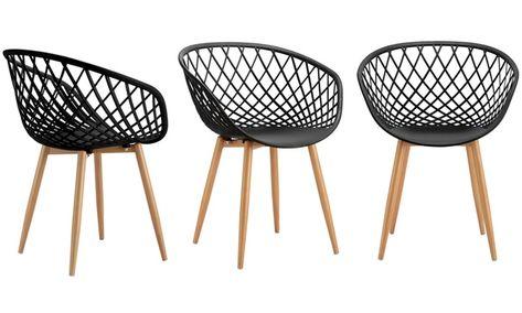 1 2 4 Ou 6 Chaise En Metal Modele Margo Livraison Offerte Chaise Metal Chaise Chaise Scandinave