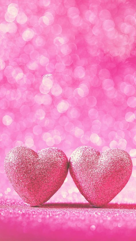 Love Pink 3d Wallpaper Iphone Heart Iphone Wallpaper Pink