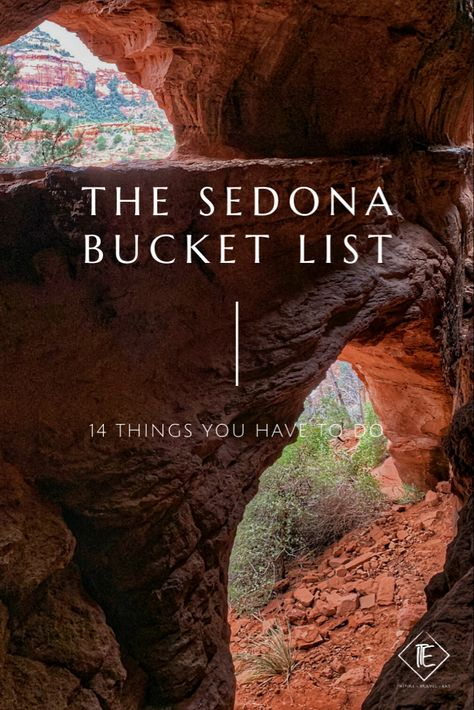Sedona is one of the prettiest areas in North America and is definitely one of the outdoors meccas. If you love to hike or be outside … The Sedona Bucket List: 14 Things You Must Do Read Arizona Road Trip, Arizona Travel, Sedona Arizona, Road Trip Usa, Road Trip Packing, Vacation Destinations, Vacation Trips, Vacations, Sedona Things To Do